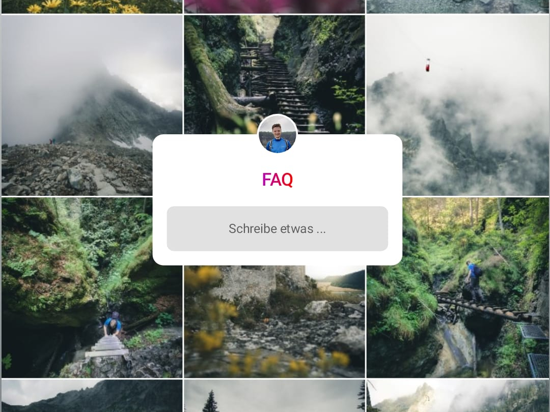 instagram feed for questions
