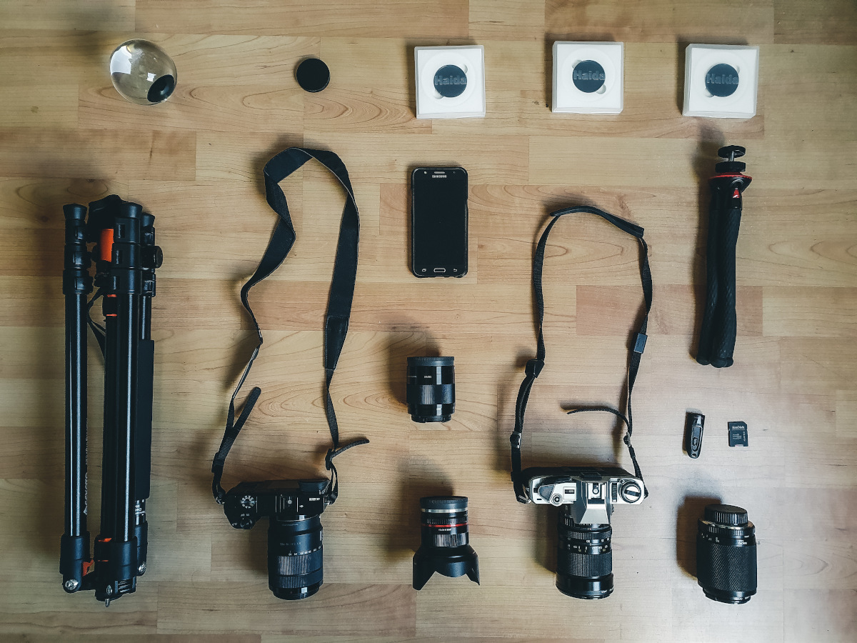 collection of my camera gear
