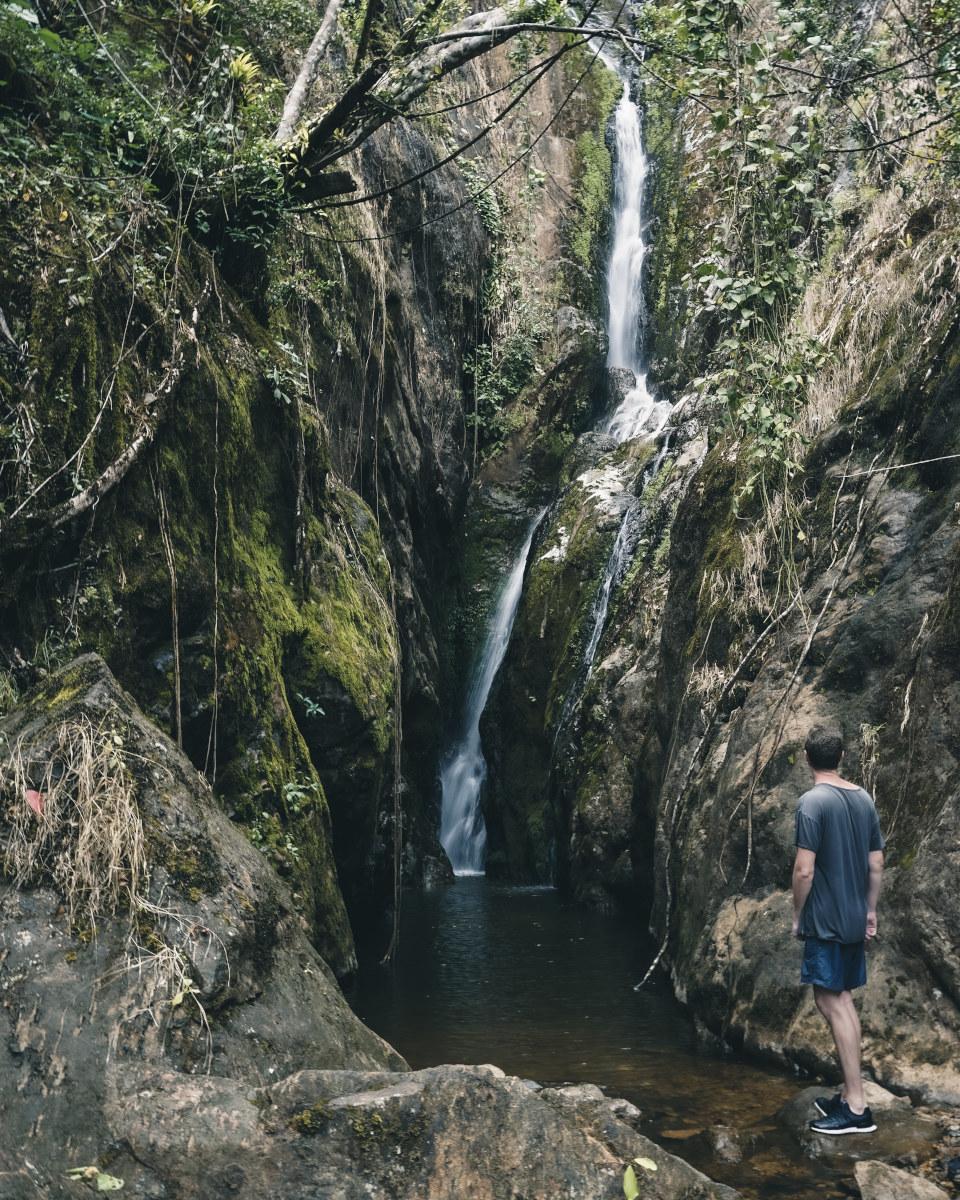 klong neung waterfall in Koh chang