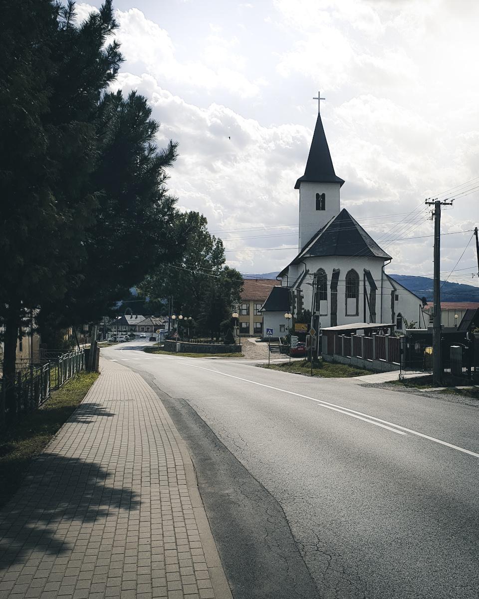 church in Hrabusice in national park Slovak Paradise