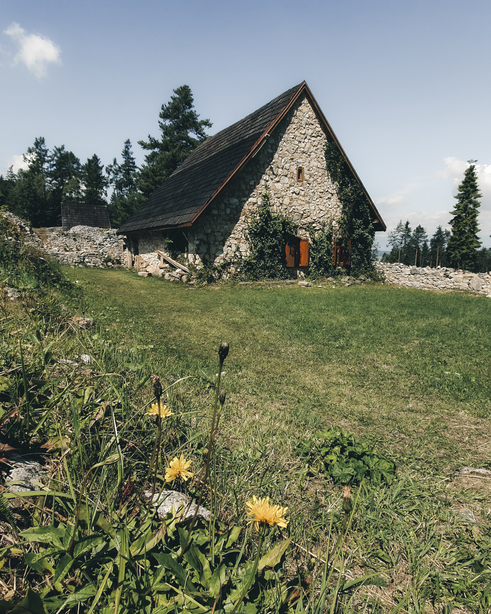 Old monastery in slovak paradise