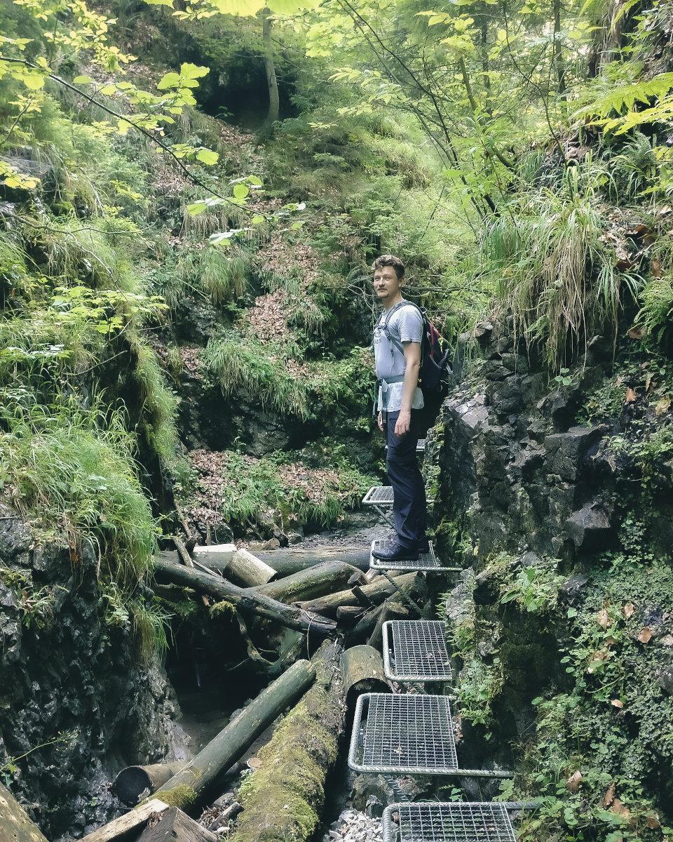 hiking tour in slovak paradise sucha bela