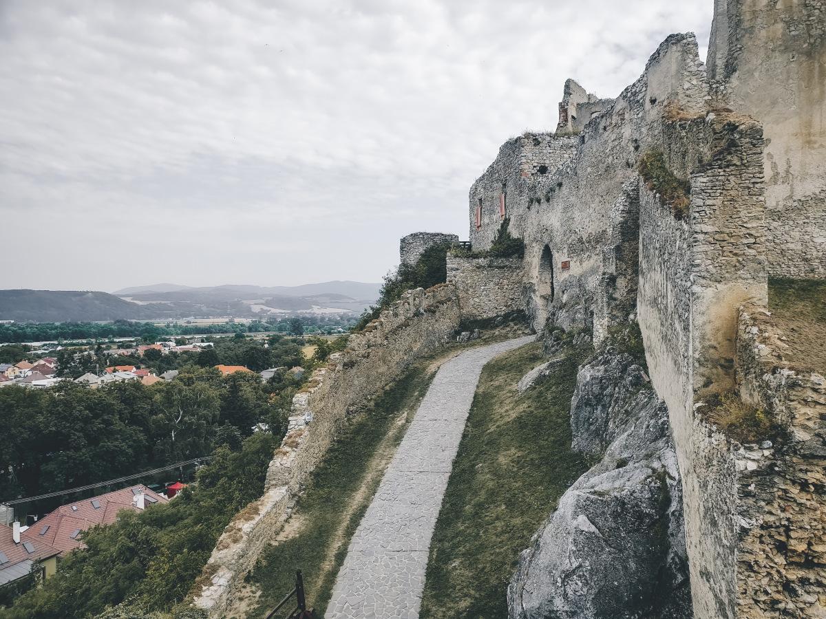 Entrance of Beckov Castle