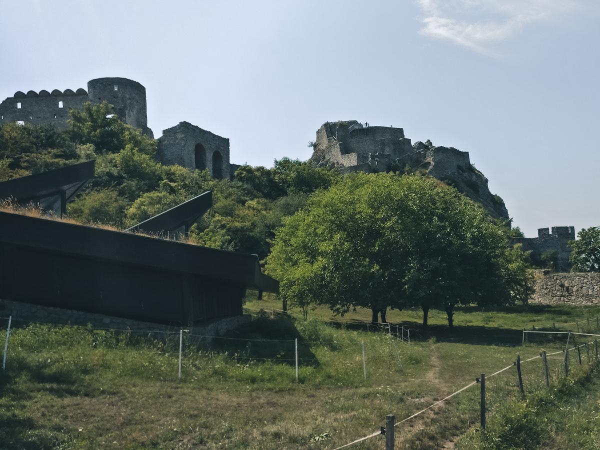 Entrance area Devin Castle