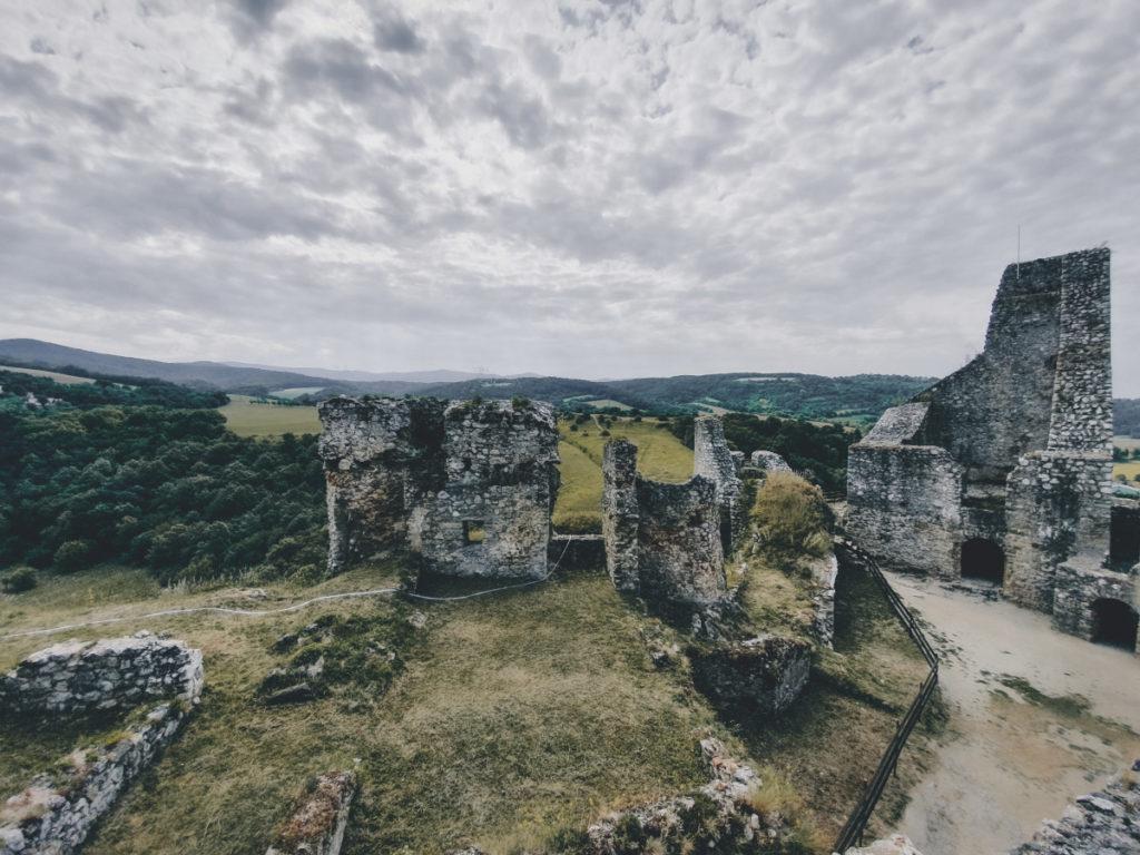 Ruins of Beckov Castle