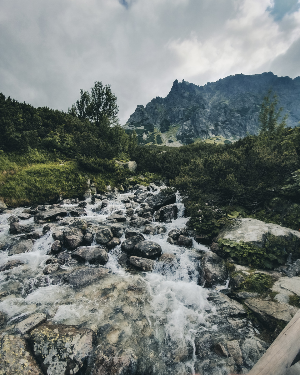 River in the High Tatras