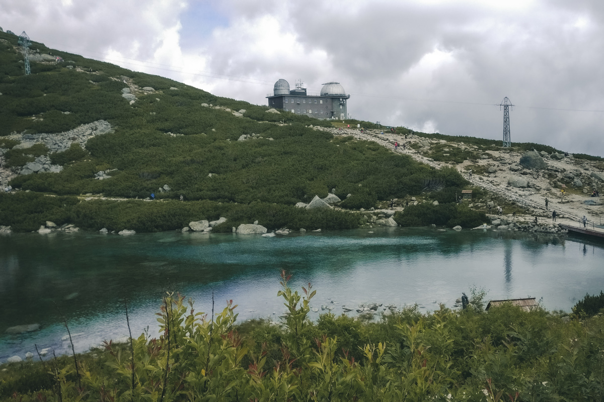 Picturesque lake in the High Tatras