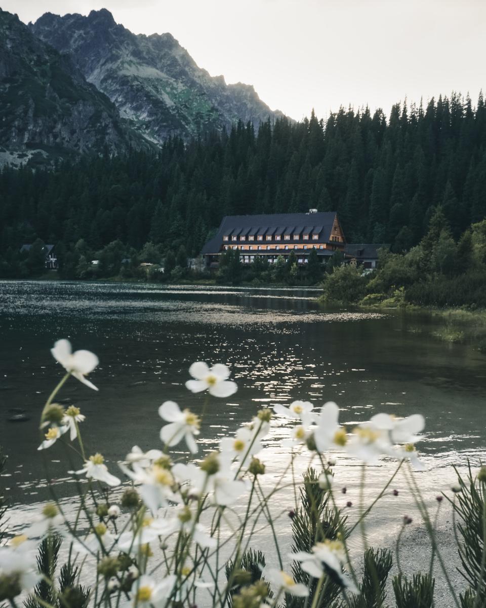 Remote hotel in the High Tatras