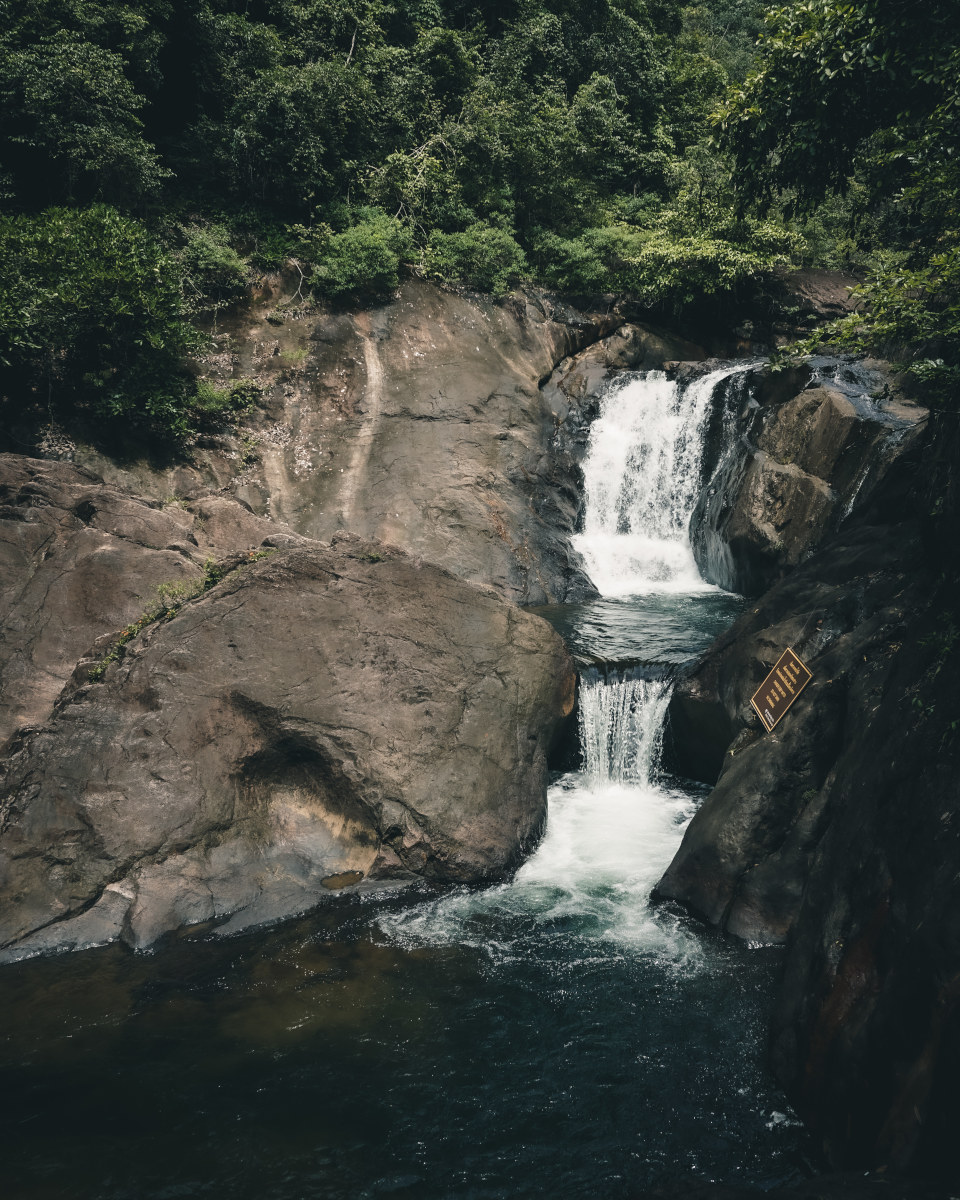 Big waterfall on Koh Chang