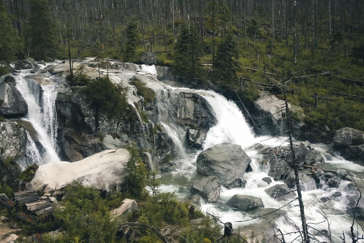 Vyhliadková terasa Waterfall