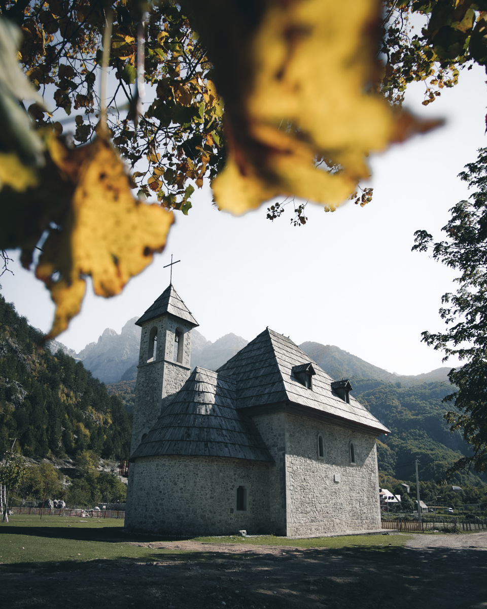 The chapel in Theth