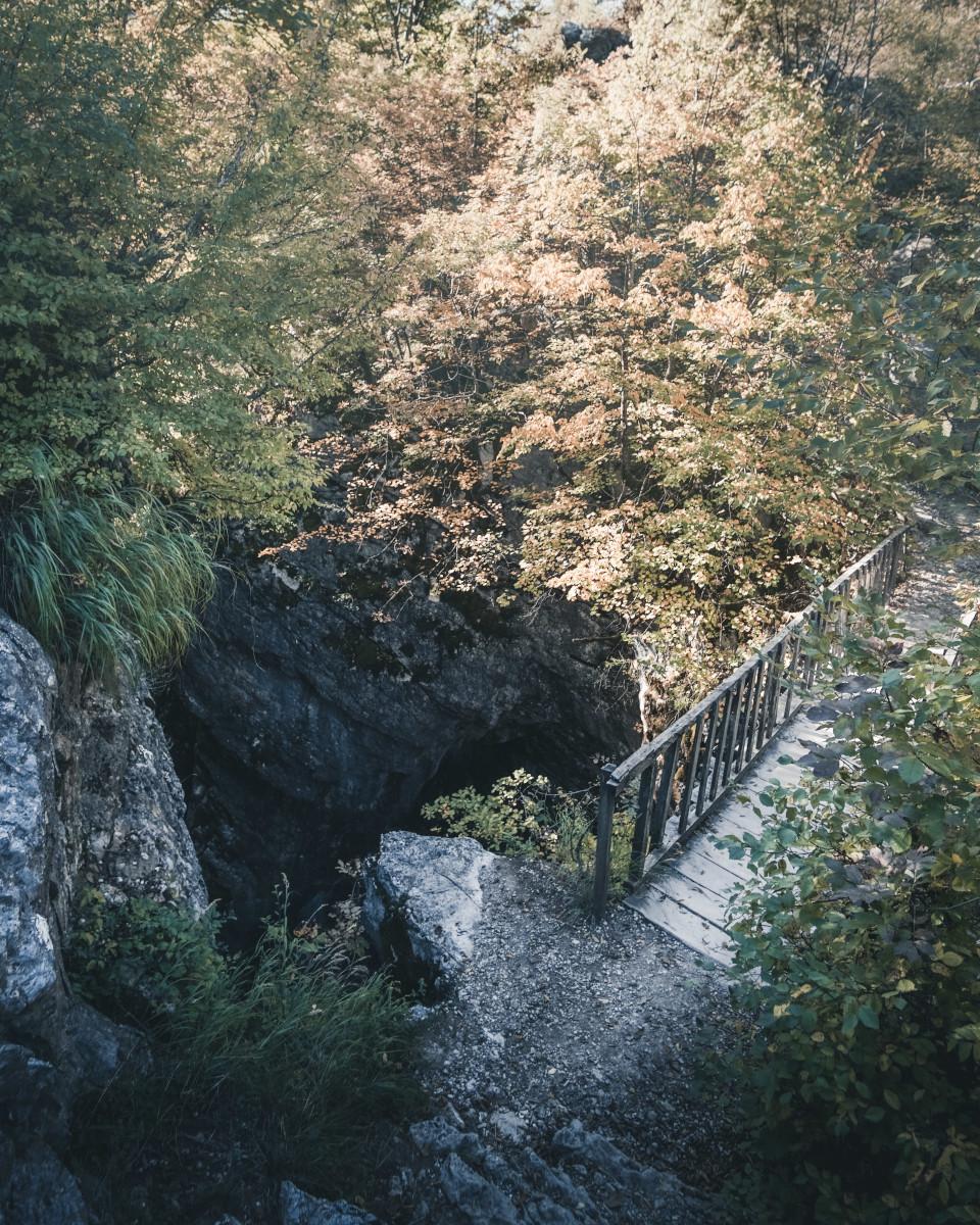 Bridge over the Grunas Gorge