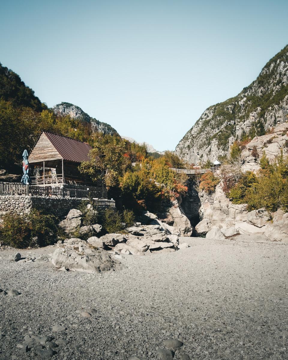 Small village in Albania