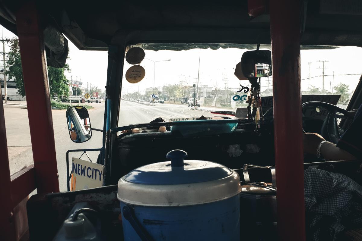 Transportation from New Sukhothai to Old Sukhothai