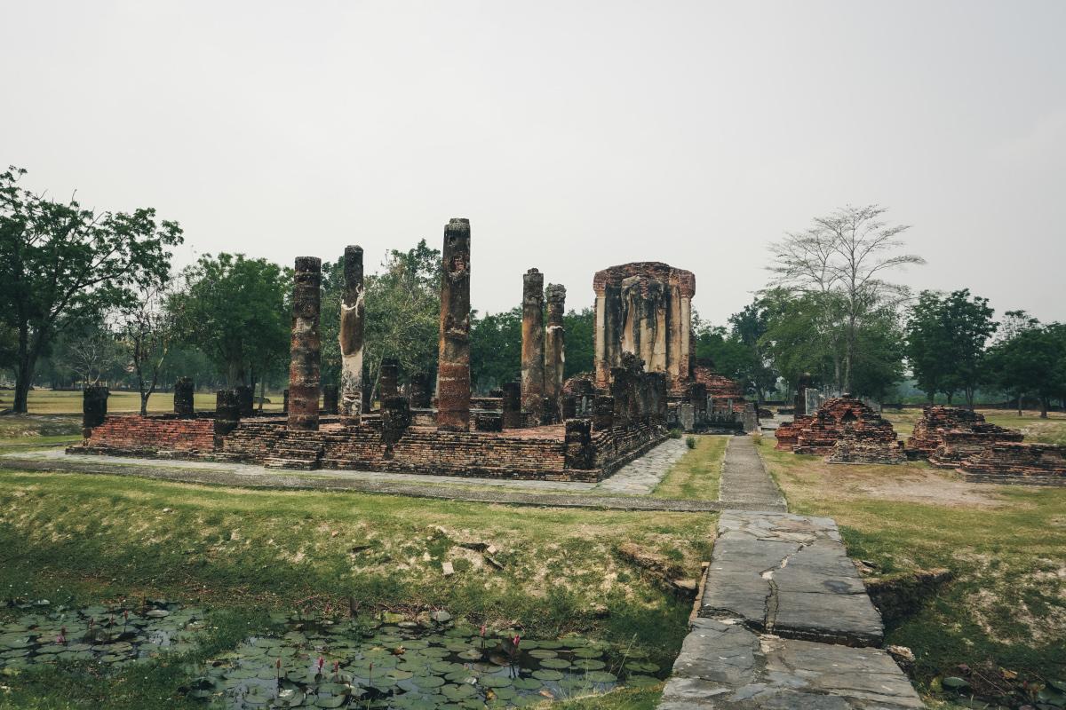 Wat Chetuphon outside of Sukhothai