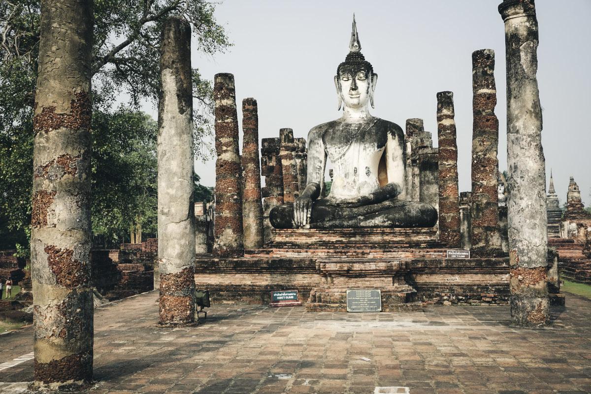 Big Buddha at Wat Mahathat