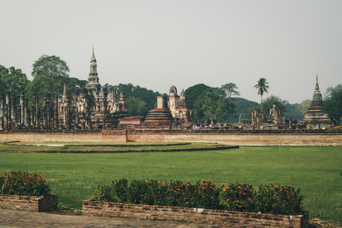 Wat Mahathat from afar