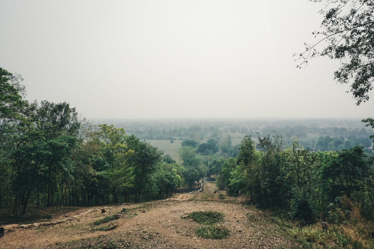 Viewpoint over Sukhothai