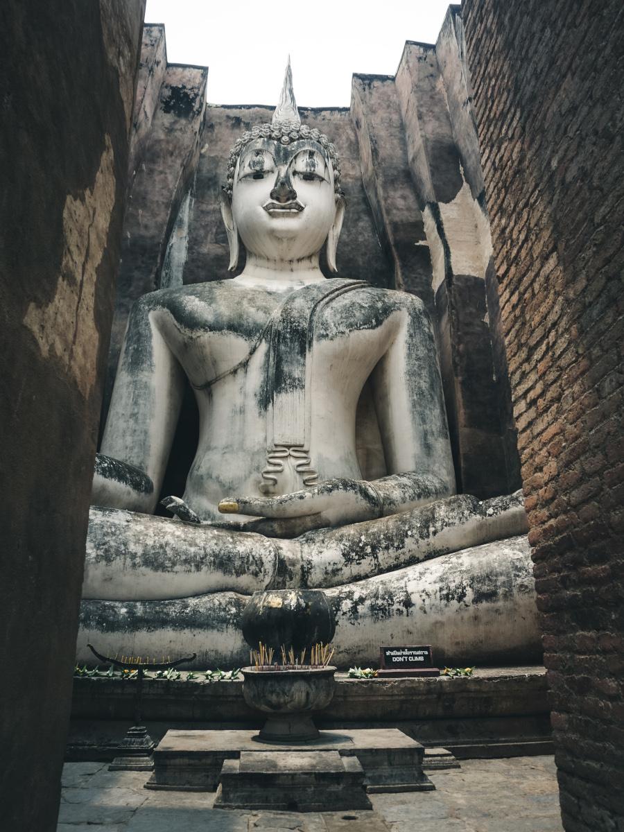 Big Buddha in Sukhothai