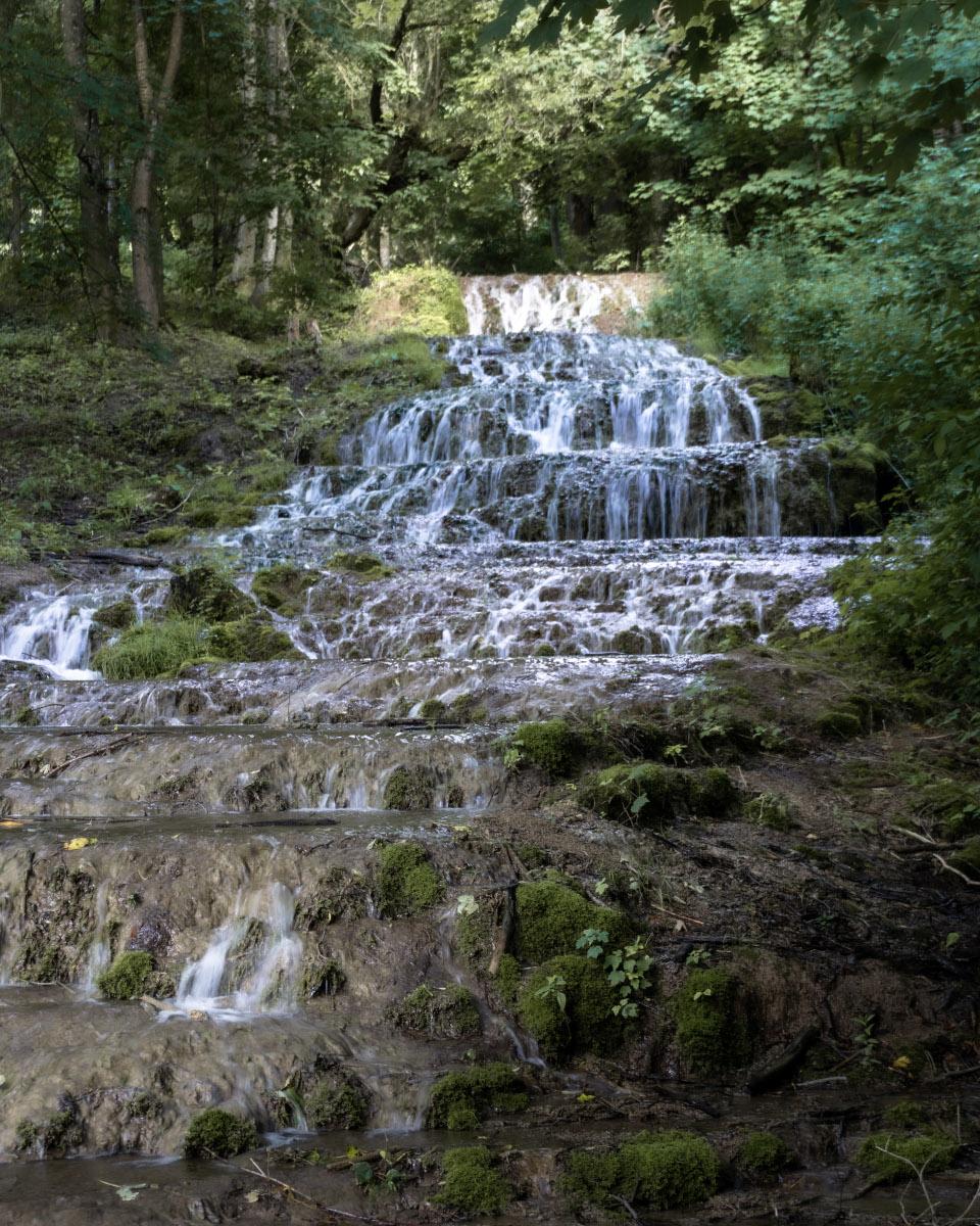 Veil Waterfall in the Bükk National Park