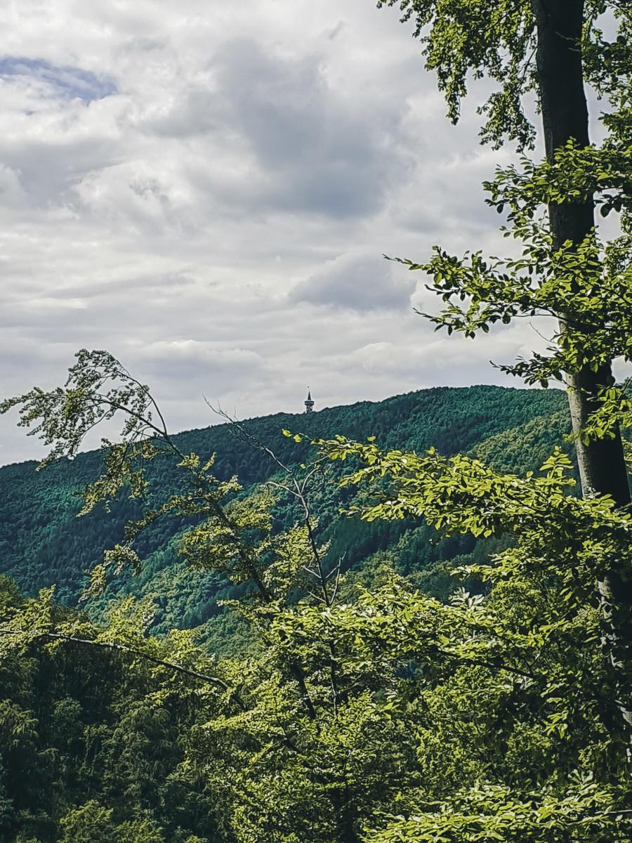 The mountains of the Bükk National Park