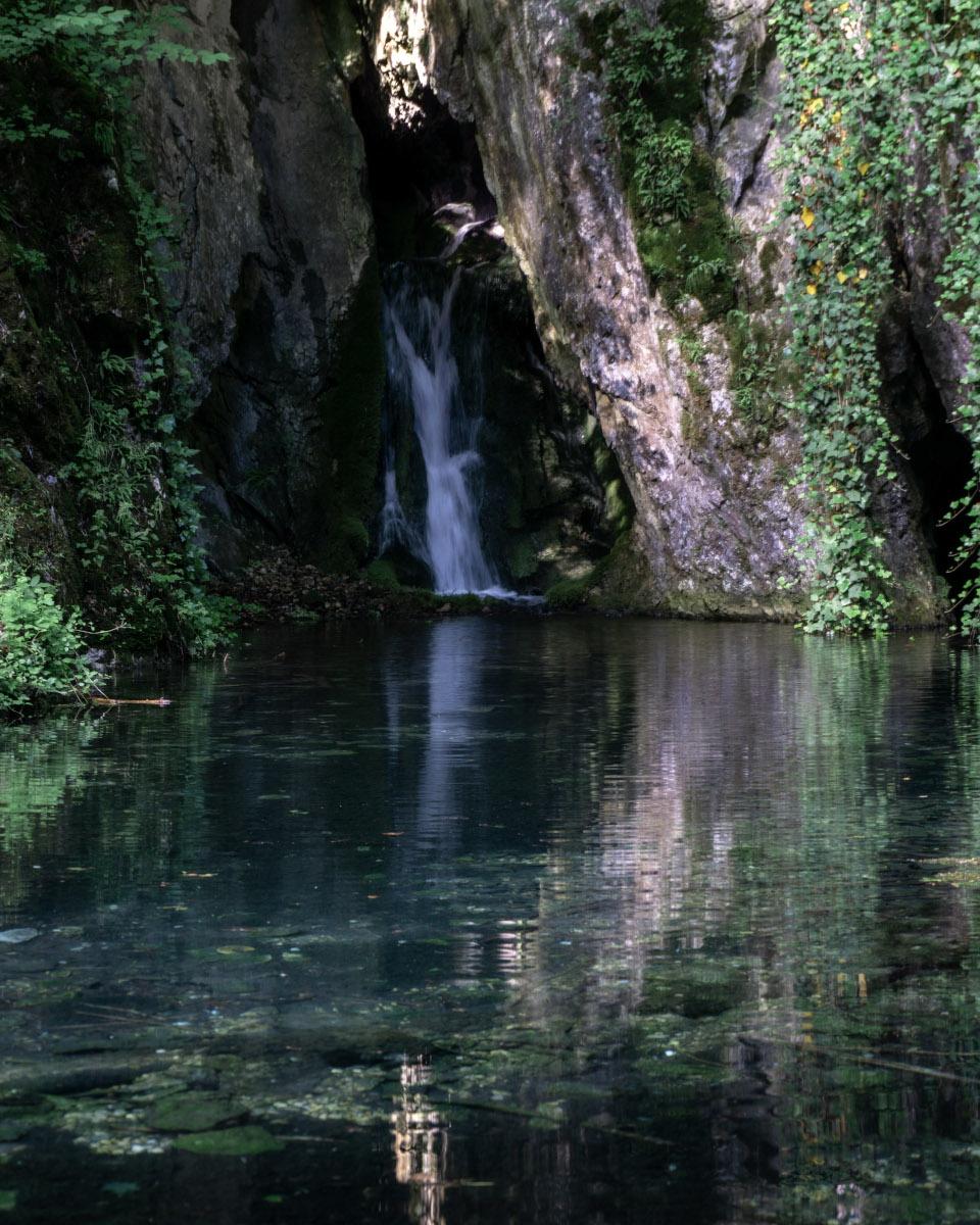Waterfall in the Bükk National Park